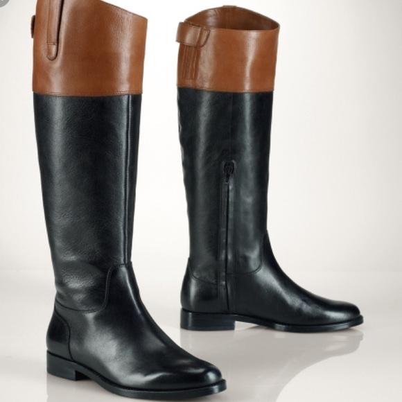 Womens Ralph Lauren Equestrian Boots